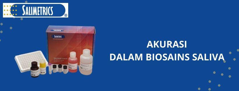 Akurasi Dalam Biosains Saliva