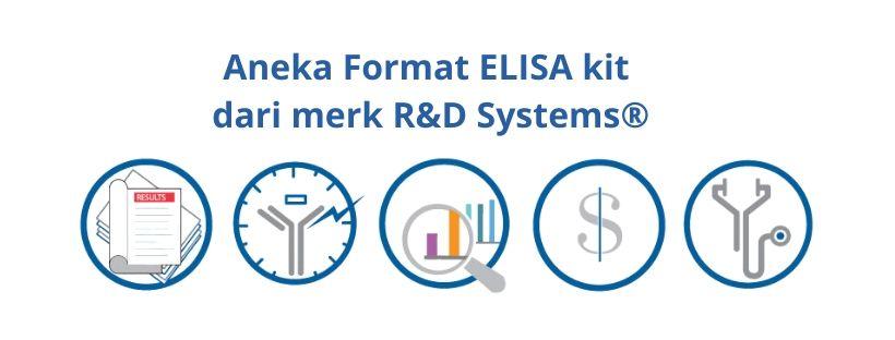 Aneka Pilihan Format ELISA kit dari merk R&D Systems