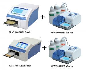 Gbr 1. Pilihan ELISA Reader dan ELISA Washer merk Allsheng